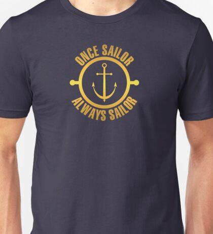 Golden Sailor Unisex T-Shirt