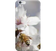 Bee in the Blossoms iPhone Case/Skin