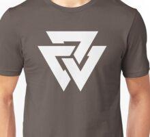 Viking Forge Symbol - White Unisex T-Shirt