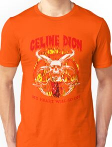 Metal Heart Will Go On Unisex T-Shirt