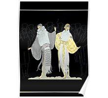 "Art Deco Design by Erte ""Opening Night"" Poster"
