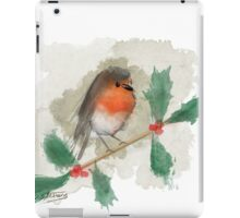 Christmas Robin iPad Case/Skin