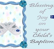 Baptism Card  by Ann12art