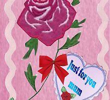 A card for Mum by Ann12art