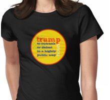 Trump Definition  Womens Fitted T-Shirt