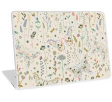 Butterfly on the Prairie Laptop Skin