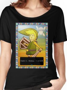 King of the Hill - Link from Zelda and Navi - Parody - Dammit, Bobby, listen!  Women's Relaxed Fit T-Shirt