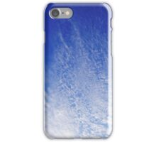 Abstract With Clouds Part 2 - Color Version iPhone Case/Skin