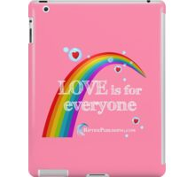 Love Is For Everyone iPad Case/Skin
