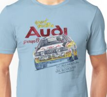 Rally Group B-Audi Sport Quatro Unisex T-Shirt