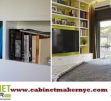 Custom Cabinets NYC by cabinetmaker25