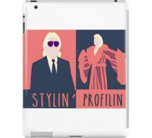 Classic Wrestling Stylin' & Profilin' Ric Flair iPad Case/Skin