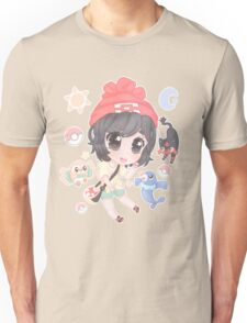 Chibi Pokémon Sun/Moon Heroine ( + Starters!) Unisex T-Shirt