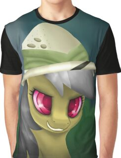 Daring Do Portrait (With Hat) Graphic T-Shirt