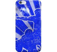 """BLUE Army """"ODST"""" Propaganda iPhone Case/Skin"""