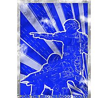 "BLUE Army ""ODST"" Propaganda Photographic Print"