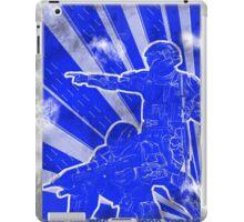 """BLUE Army """"ODST"""" Propaganda iPad Case/Skin"""