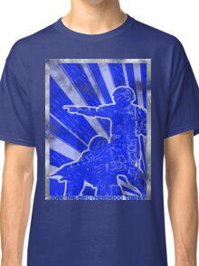 """BLUE Army """"ODST"""" Propaganda Classic T-Shirt"""
