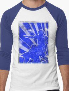 "BLUE Army ""ODST"" Propaganda Men's Baseball ¾ T-Shirt"