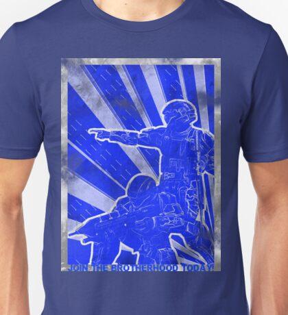 """BLUE Army """"ODST"""" Propaganda Unisex T-Shirt"""