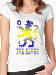 Chelsea - The blue Women's Fitted Scoop T-Shirt