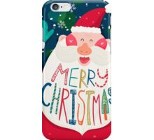 Happy Santa Claus iPhone Case/Skin