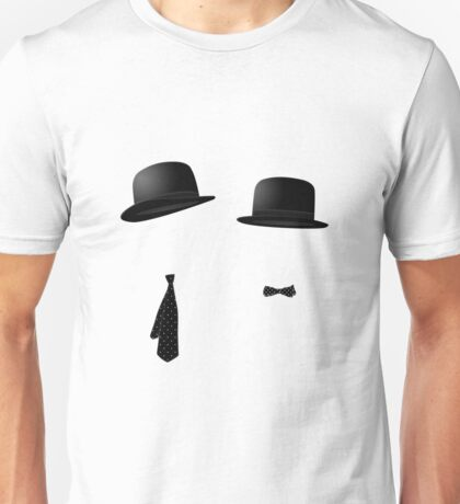 Laurel and Hardy Bowlers and Ties Unisex T-Shirt