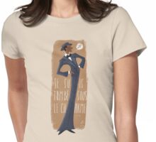 Je Suis Tombe Womens Fitted T-Shirt
