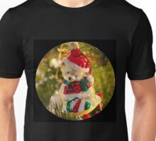 Antique Christmas Bear Ornament  Unisex T-Shirt