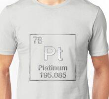 Periodic Table of Elements - Platinum (Pt) Unisex T-Shirt