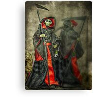 Death And The Shadow of Death Canvas Print
