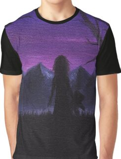 All Alone Graphic T-Shirt