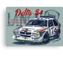 Rally Group B-Lancia Delta S4 Canvas Print