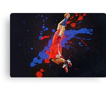 Epic Basketball Players 011 Canvas Print