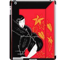 "Art Deco Design by Erte ""Furs"" iPad Case/Skin"