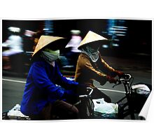 Ho Chi Minh City. Street Riders Poster