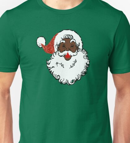 sequin African santa claus Unisex T-Shirt