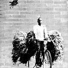 wall art-The BIKER by DAdeSimone
