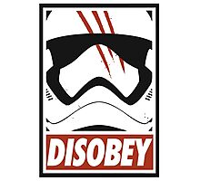 Obey Disobey Photographic Print