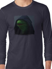 Kermit meme Long Sleeve T-Shirt