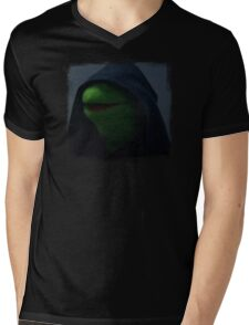 Kermit meme Mens V-Neck T-Shirt