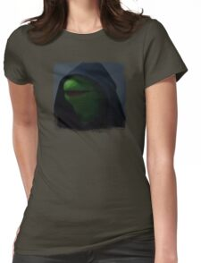 Kermit meme Womens Fitted T-Shirt
