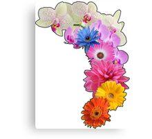Flowery Love Canvas Print