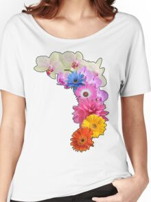 Flowery Love Women's Relaxed Fit T-Shirt