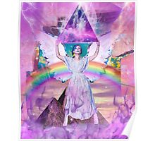 Lisa Frank <3s Jesus  Poster