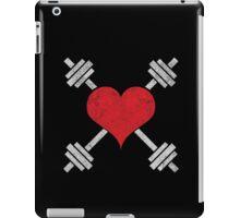 I Love Lifting Barbell Heart iPad Case/Skin
