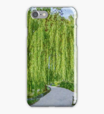 Under the Weeping Willow iPhone Case/Skin