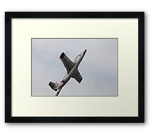 Monument airplane L-29 Delfin Framed Print