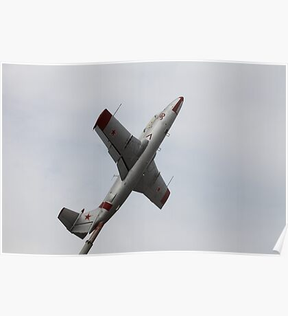 Monument airplane L-29 Delfin Poster
