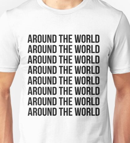 Around the world, Around the world Unisex T-Shirt